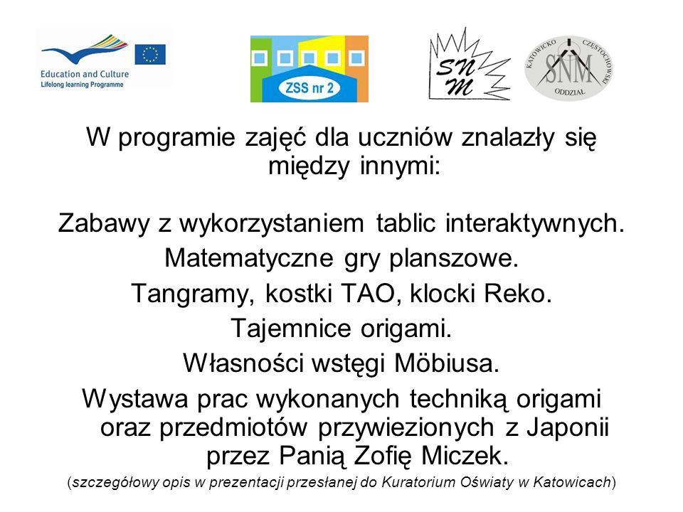 W programie zajęć dla uczniów znalazły się między innymi: