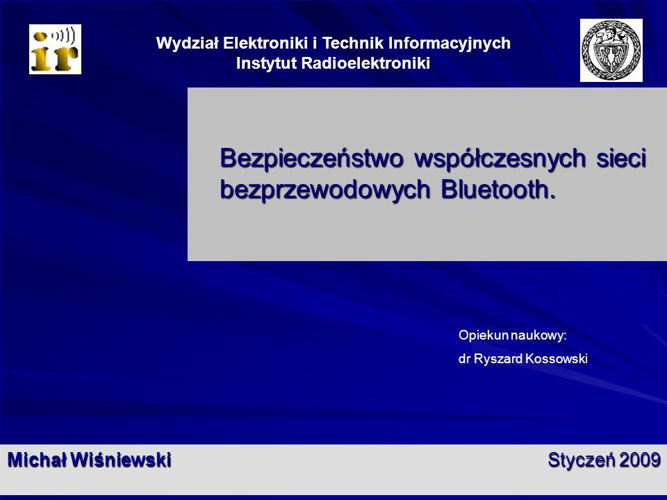 Wydział Elektroniki i Technik Informacyjnych Instytut Radioelektroniki