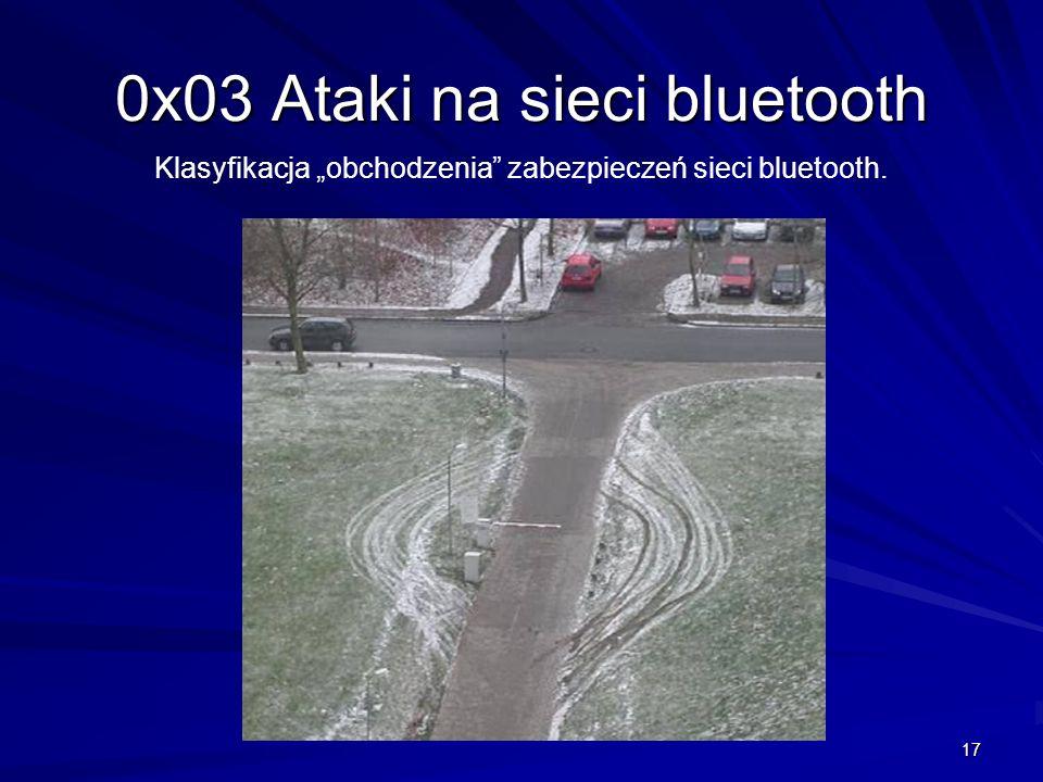 0x03 Ataki na sieci bluetooth