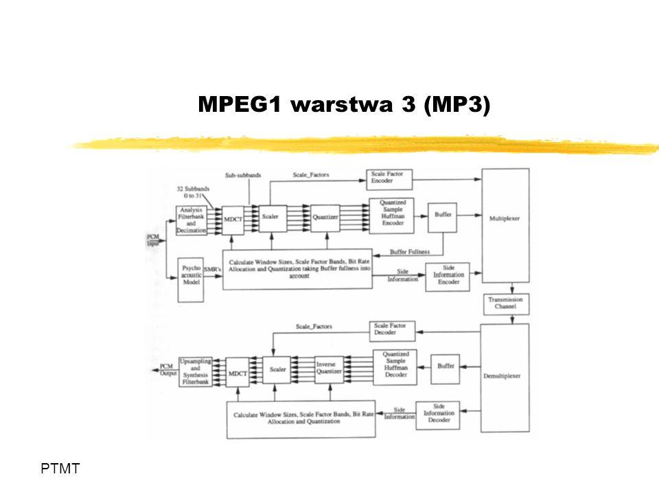 MPEG1 warstwa 3 (MP3) PTMT