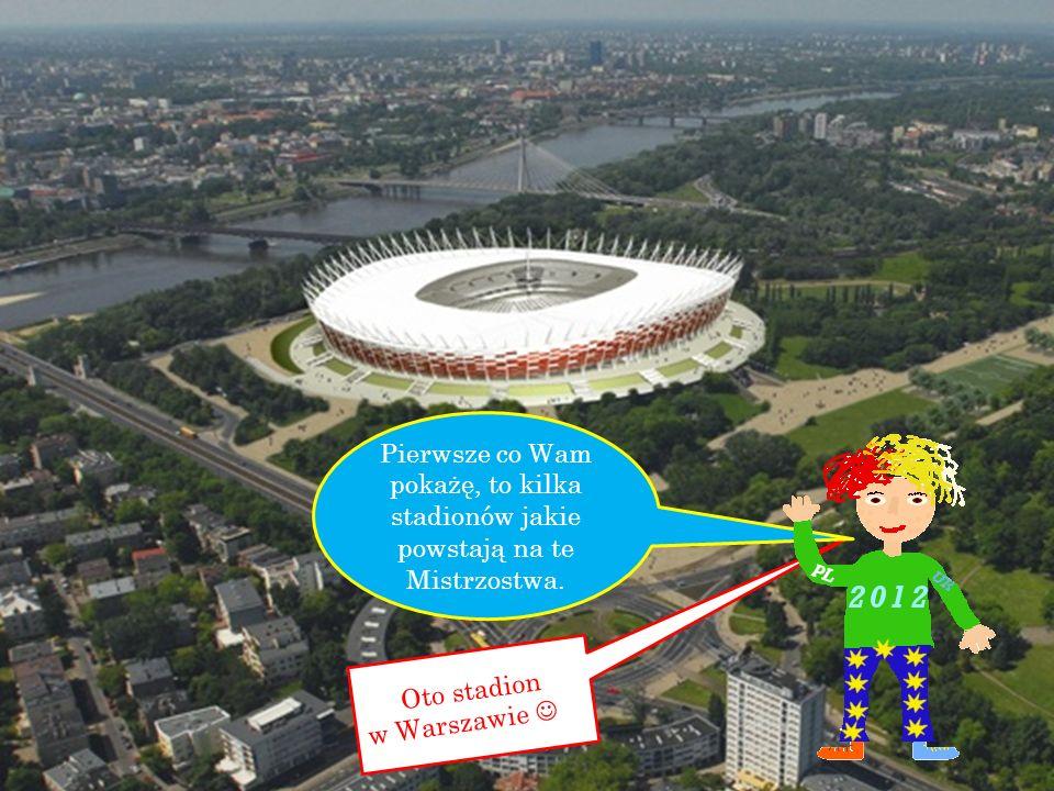 Oto stadion w Warszawie …