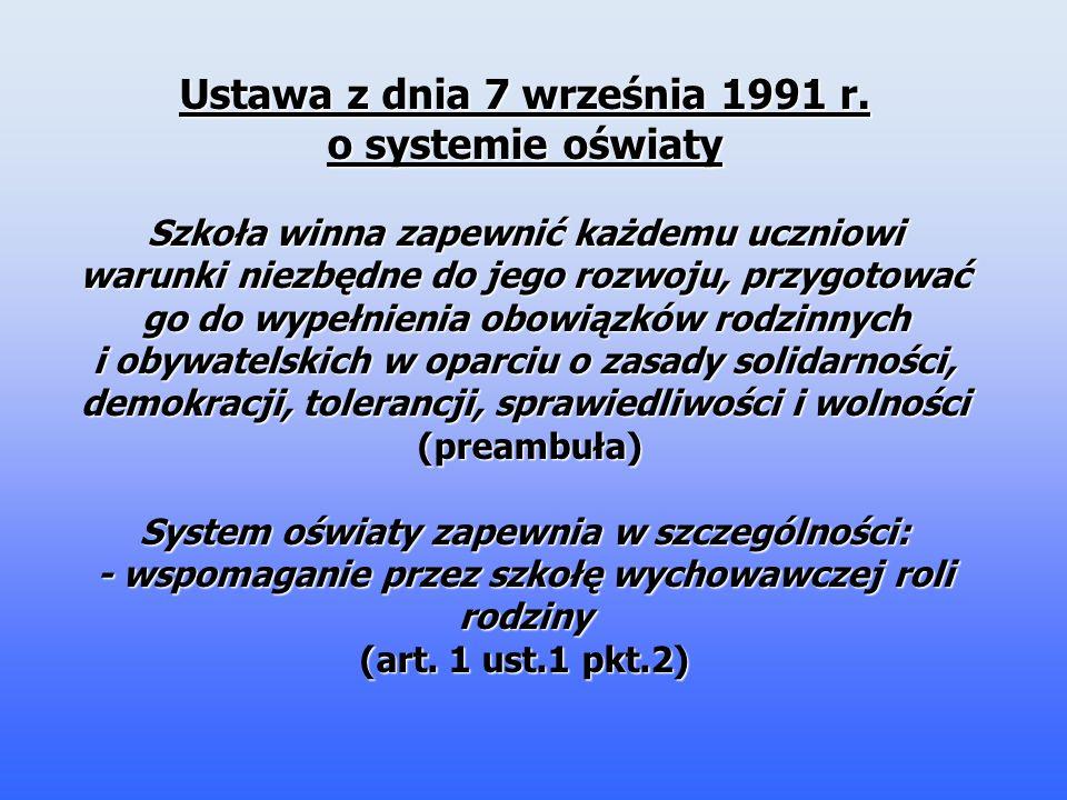 Ustawa z dnia 7 września 1991 r