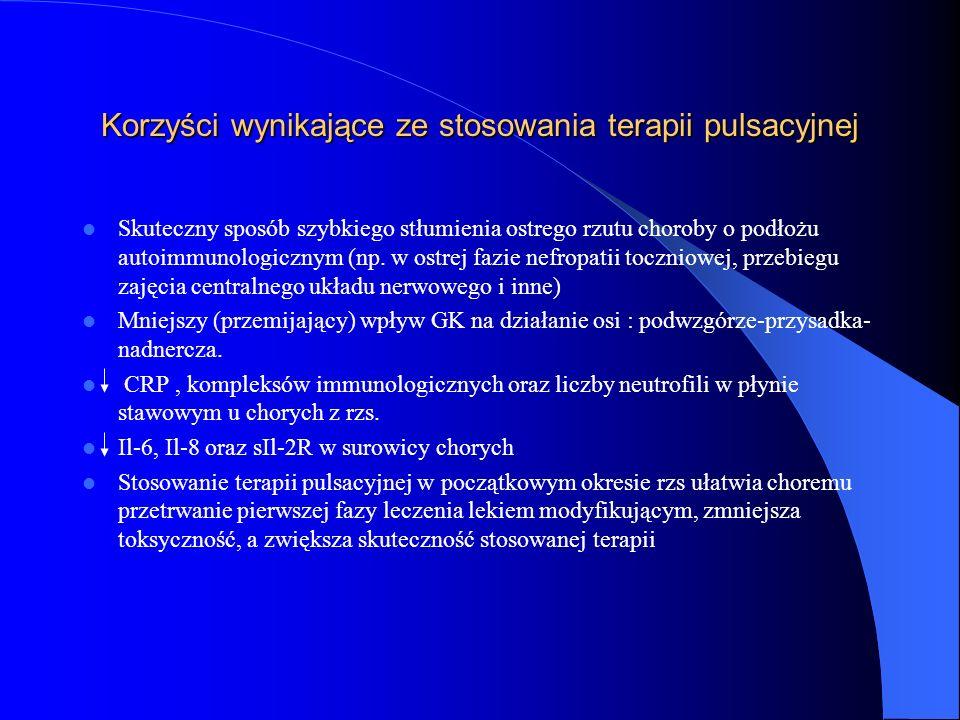 Korzyści wynikające ze stosowania terapii pulsacyjnej