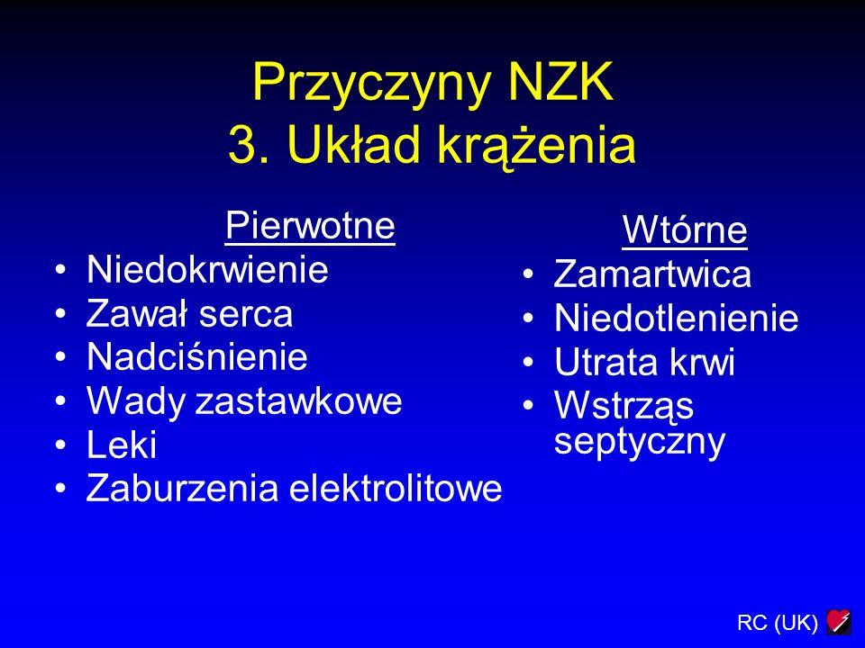 Przyczyny NZK 3. Układ krążenia