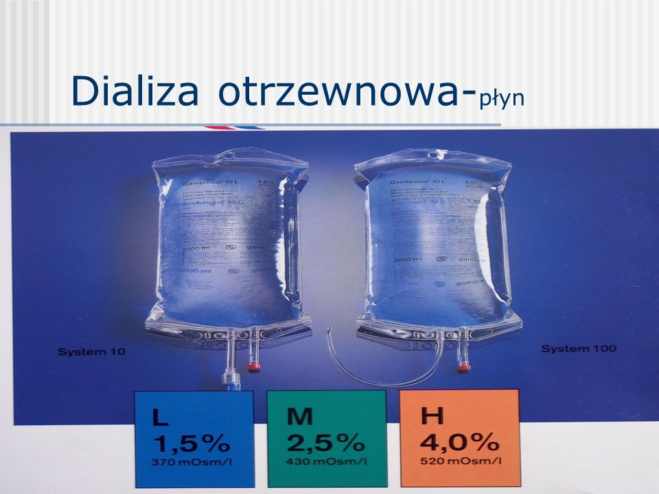 Dializa otrzewnowa-płyn