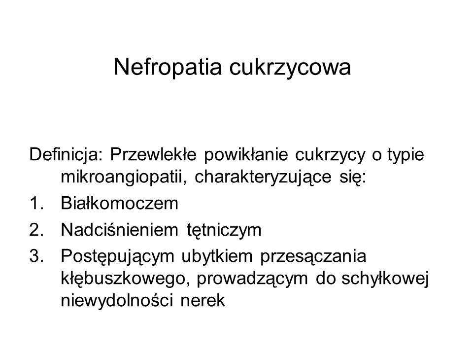 Nefropatia cukrzycowa