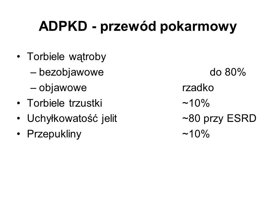 ADPKD - przewód pokarmowy