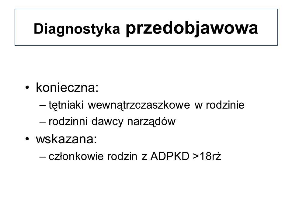 Diagnostyka przedobjawowa