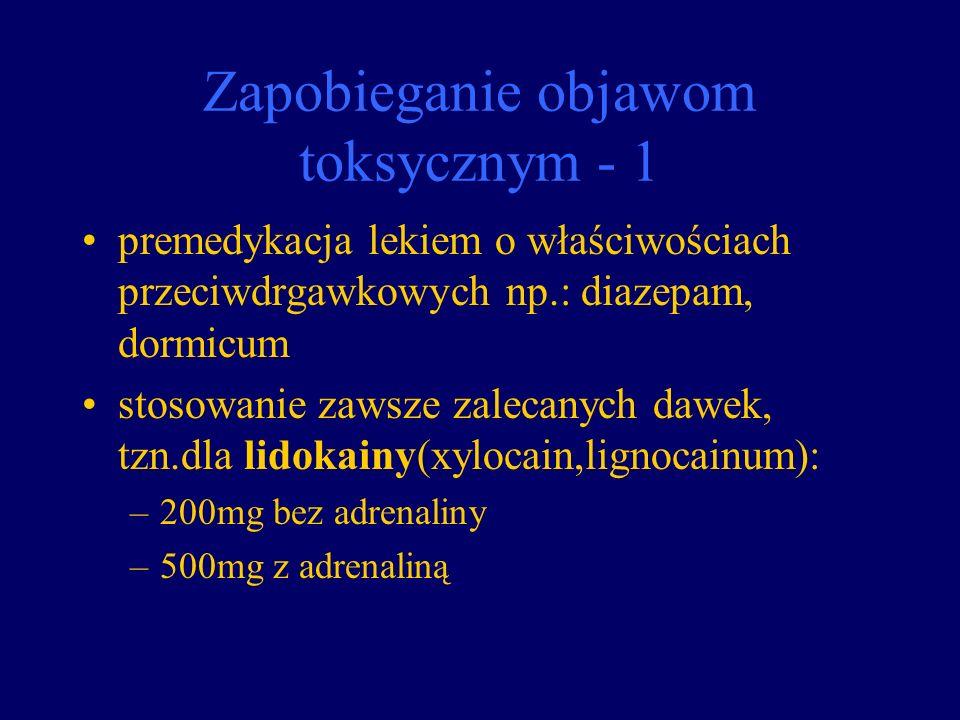 Zapobieganie objawom toksycznym - 1