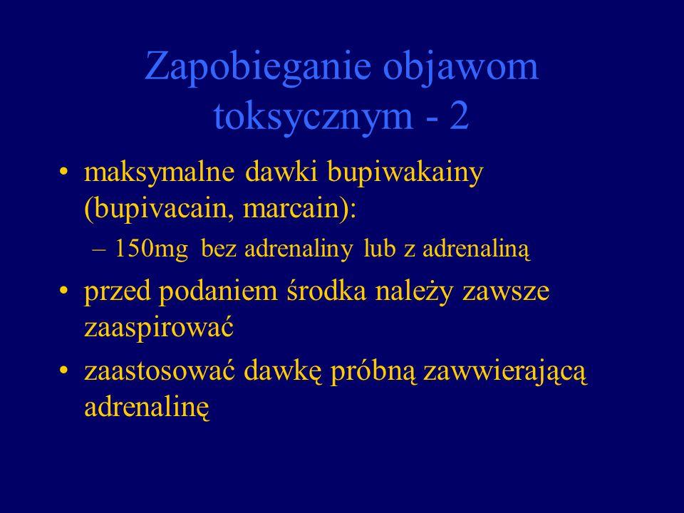 Zapobieganie objawom toksycznym - 2