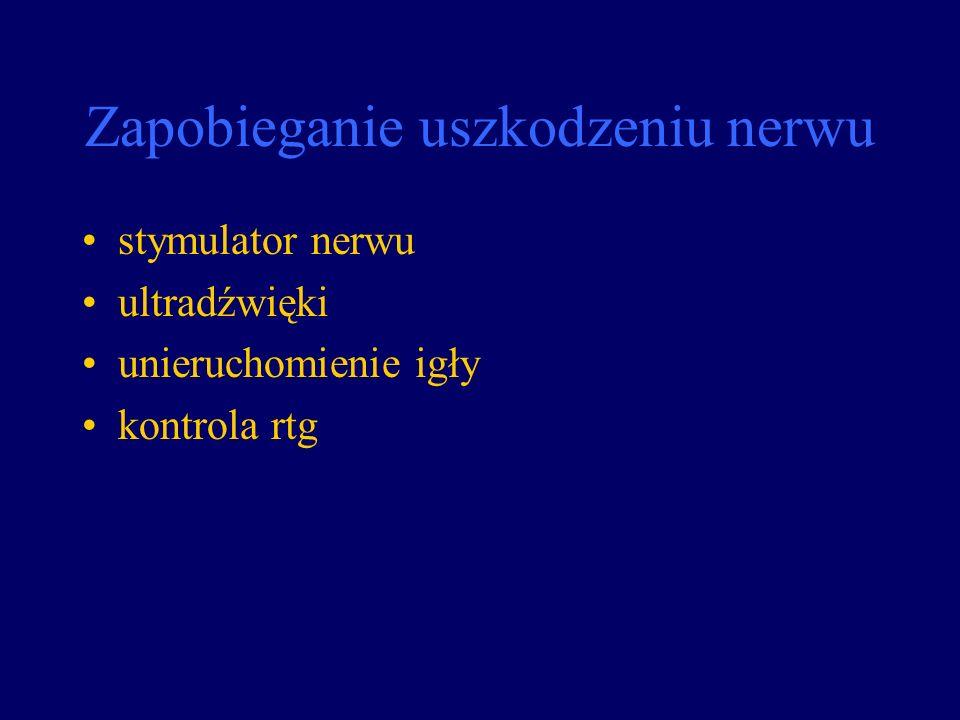 Zapobieganie uszkodzeniu nerwu