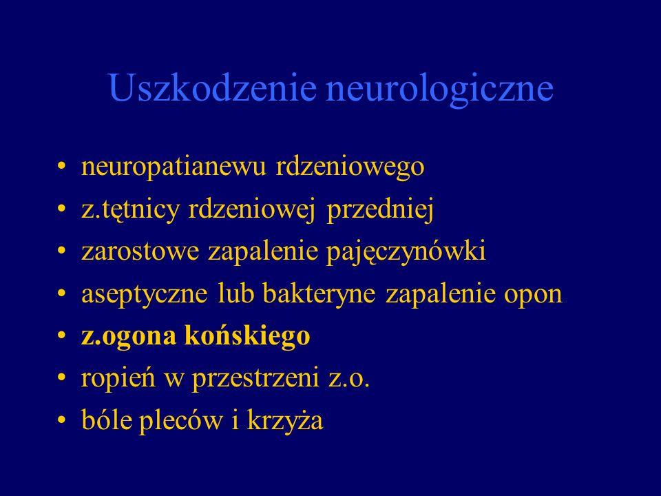 Uszkodzenie neurologiczne