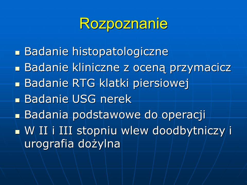 Rozpoznanie Badanie histopatologiczne