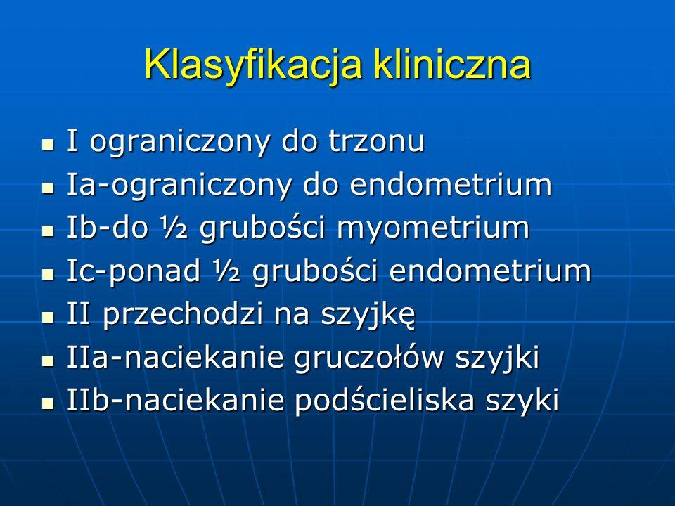 Klasyfikacja kliniczna