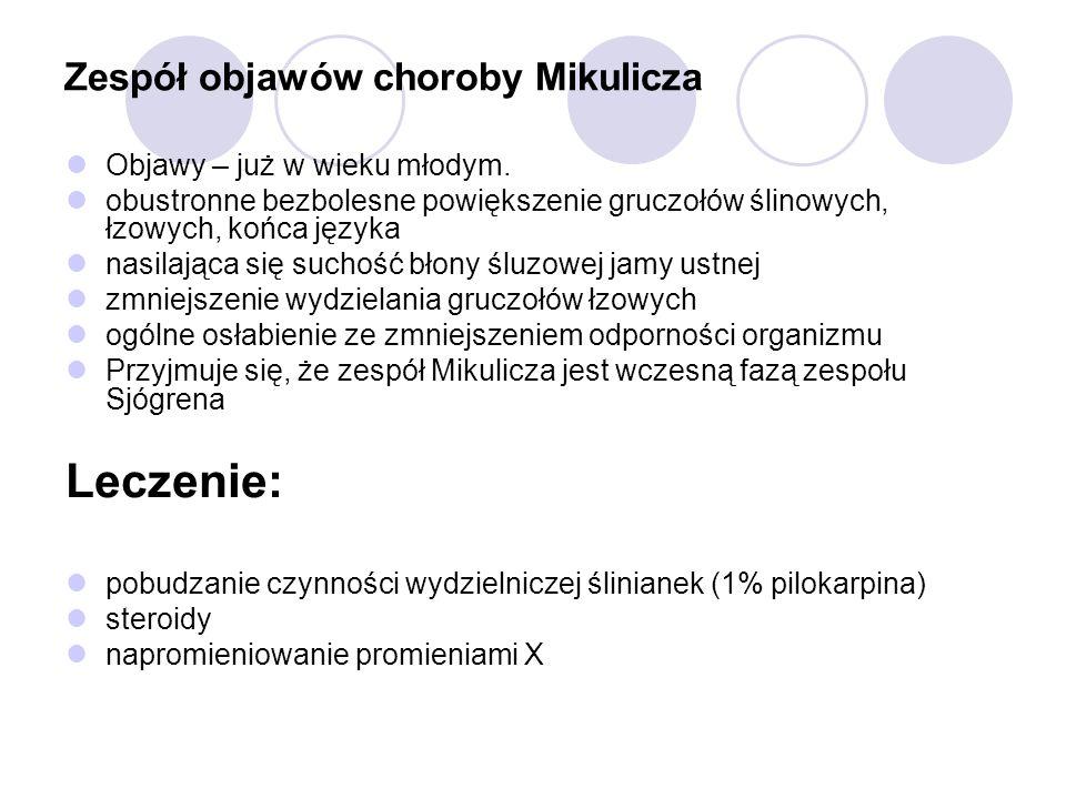 Zespół objawów choroby Mikulicza