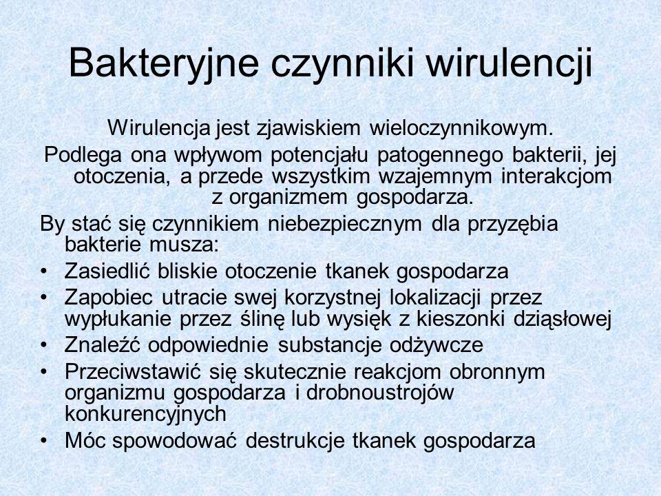 Bakteryjne czynniki wirulencji