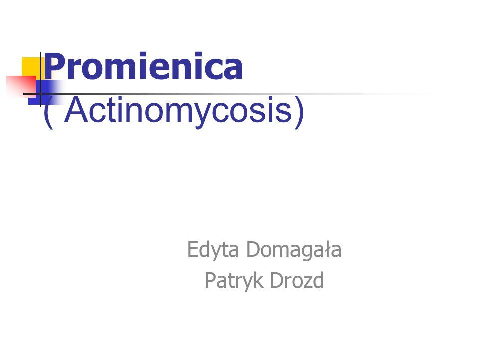 Promienica ( Actinomycosis)