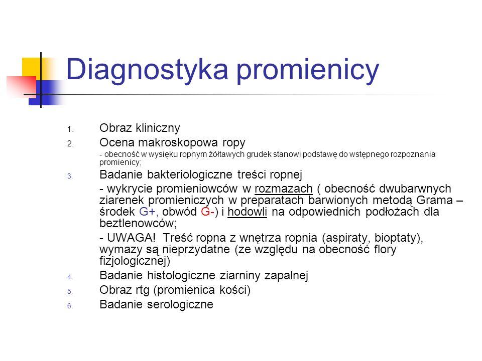 Diagnostyka promienicy
