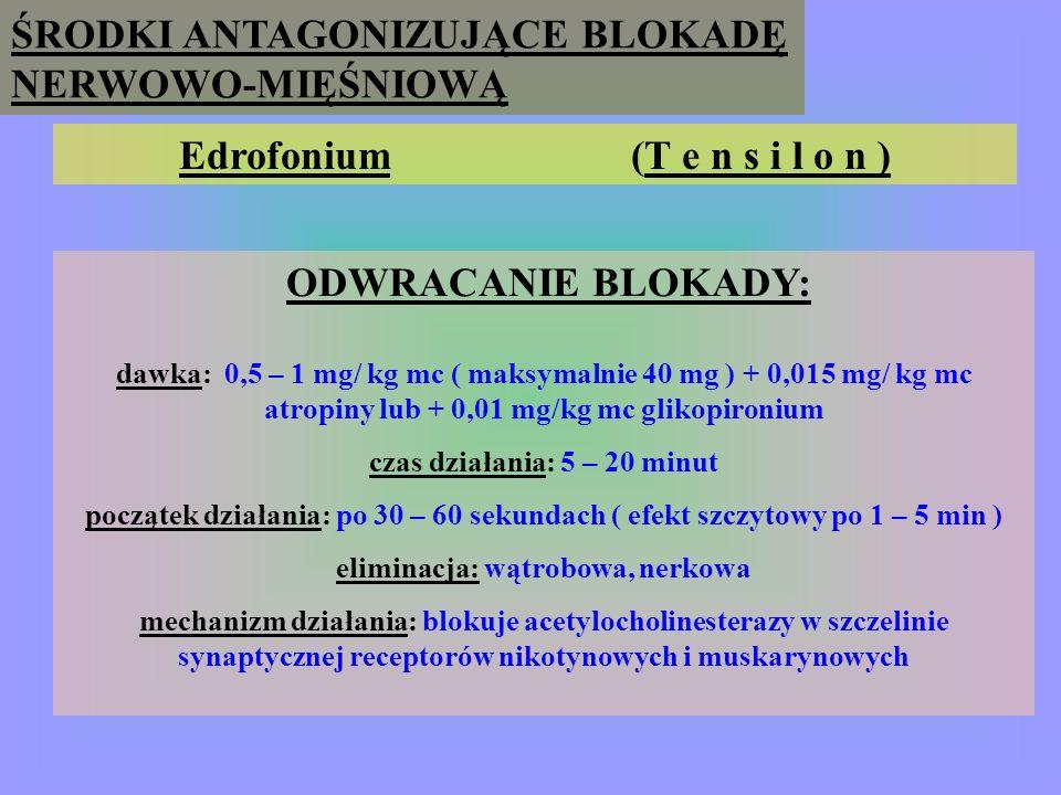Edrofonium (T e n s i l o n )