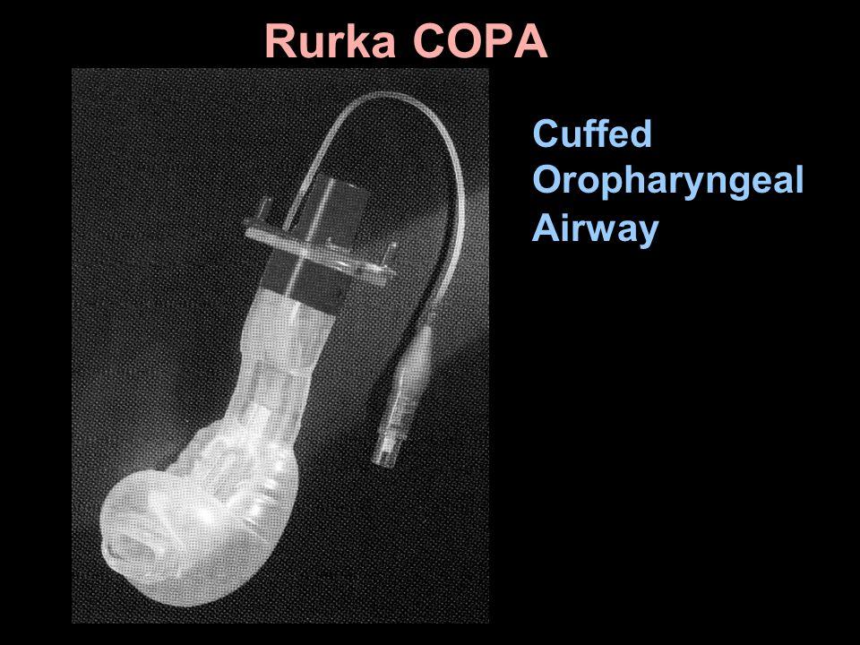 Rurka COPA Cuffed Oropharyngeal Airway