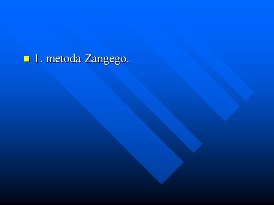 1. metoda Zangego.
