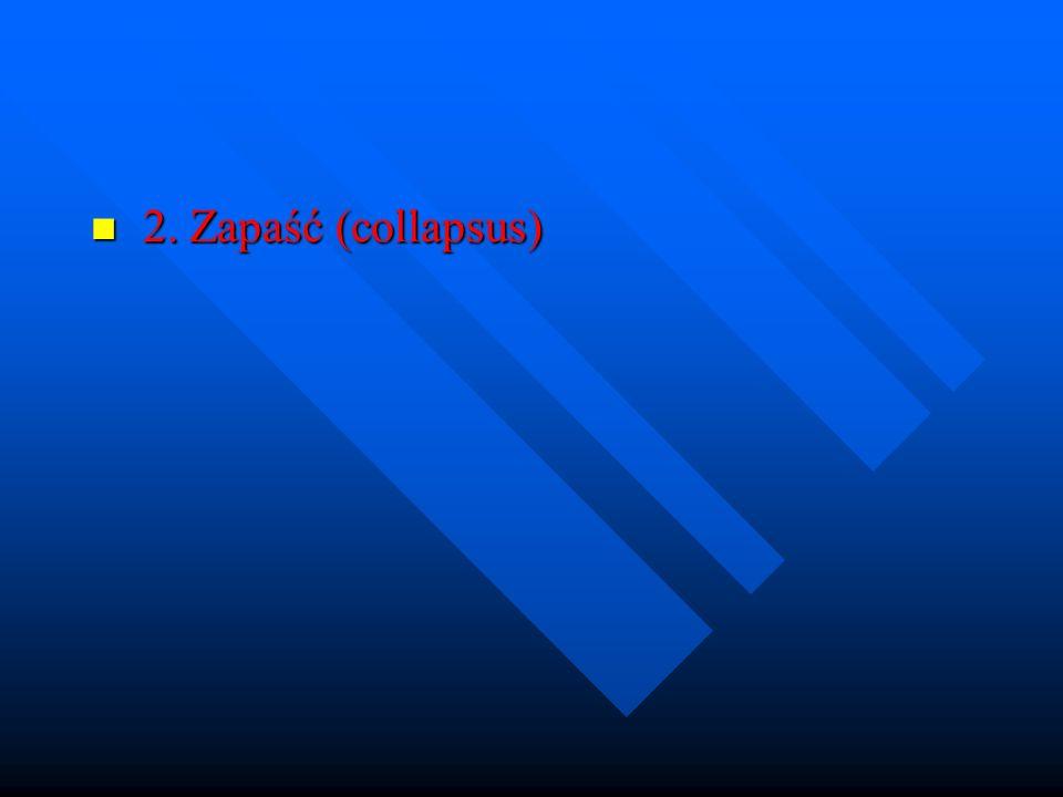 2. Zapaść (collapsus)