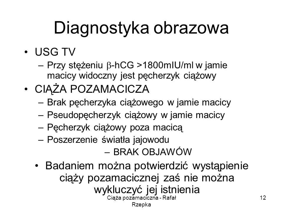 Ciąża pozamaciczna - Rafał Rzepka