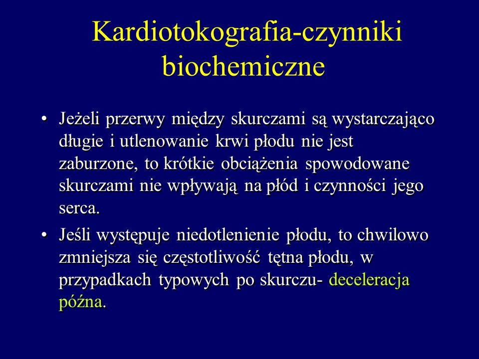 Kardiotokografia-czynniki biochemiczne