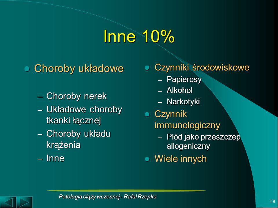 Patologia ciąży wczesnej - Rafał Rzepka