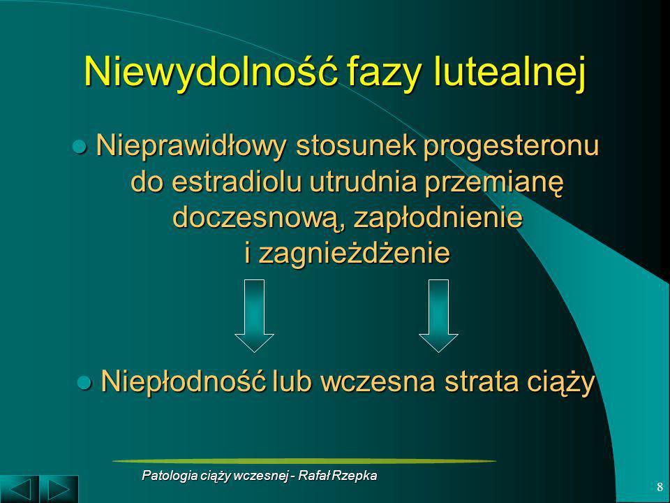 Niewydolność fazy lutealnej