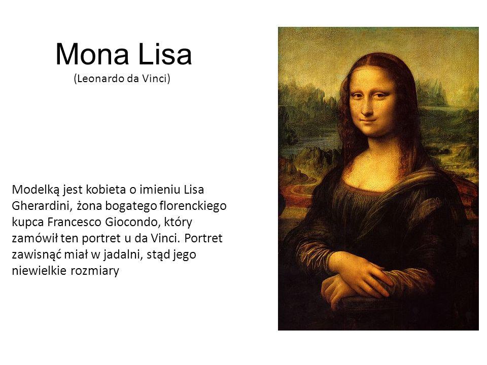 Mona Lisa(Leonardo da Vinci)