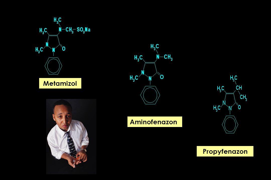 Metamizol Aminofenazon Propyfenazon