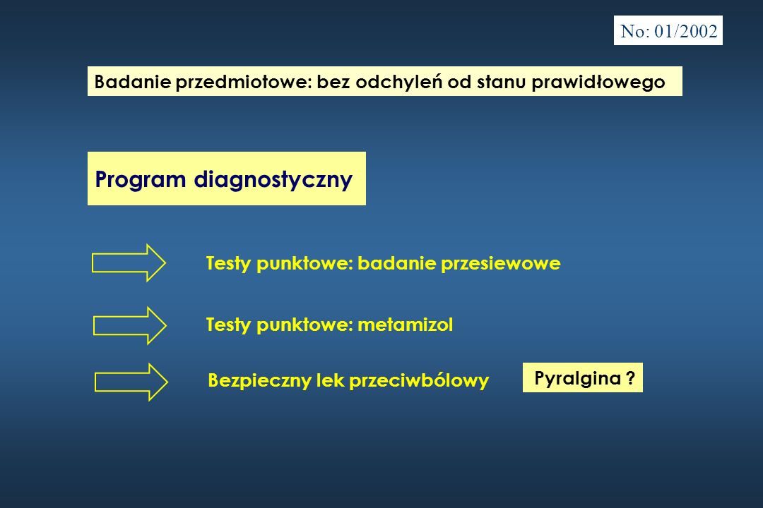 Program diagnostyczny