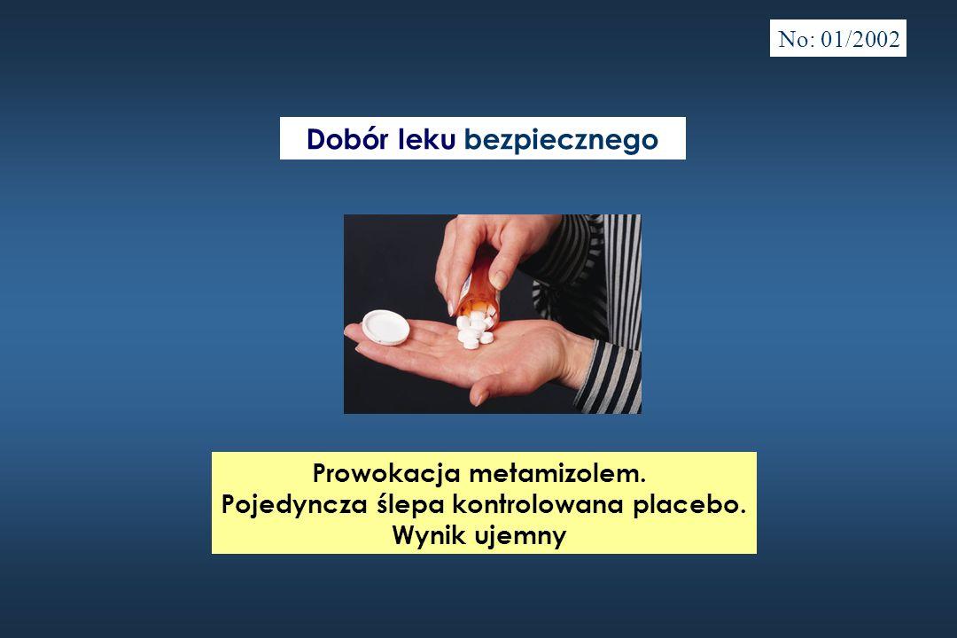 Dobór leku bezpiecznego