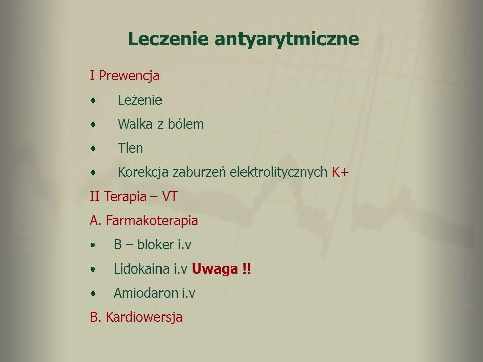 Leczenie antyarytmiczne