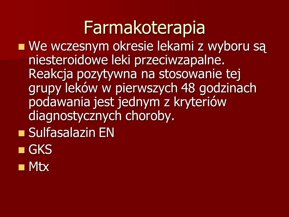 Farmakoterapia