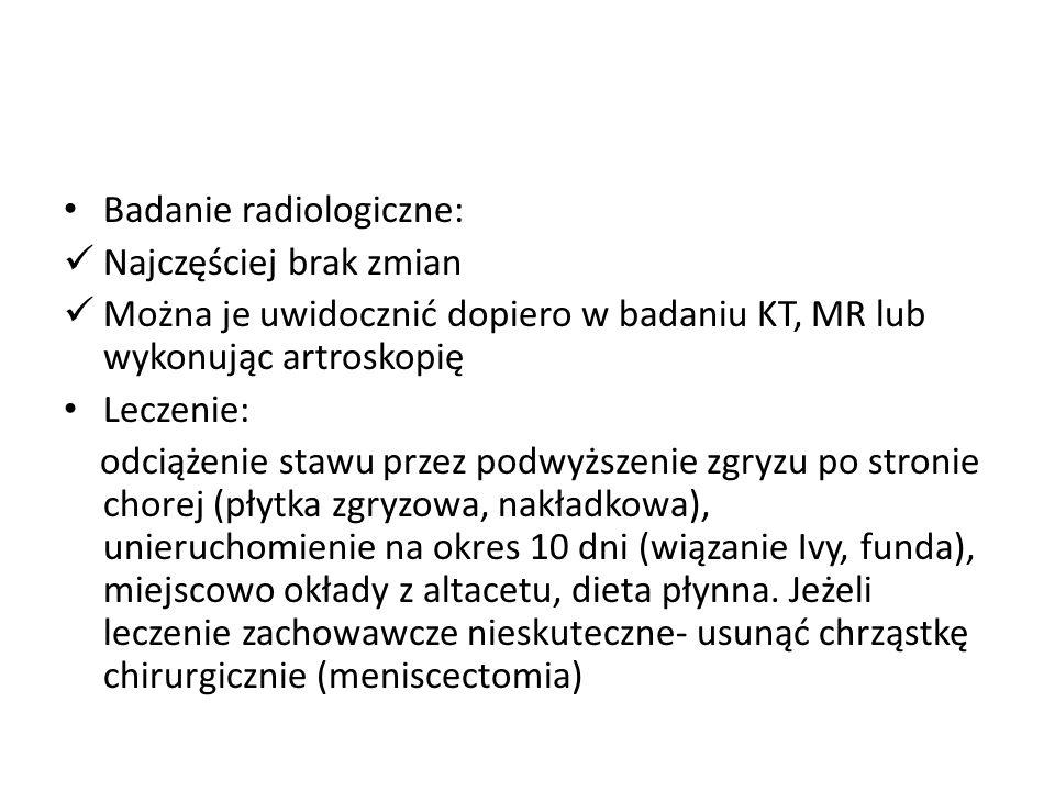 Badanie radiologiczne: