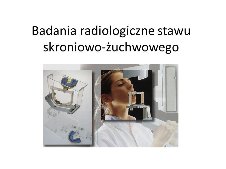 Badania radiologiczne stawu skroniowo-żuchwowego