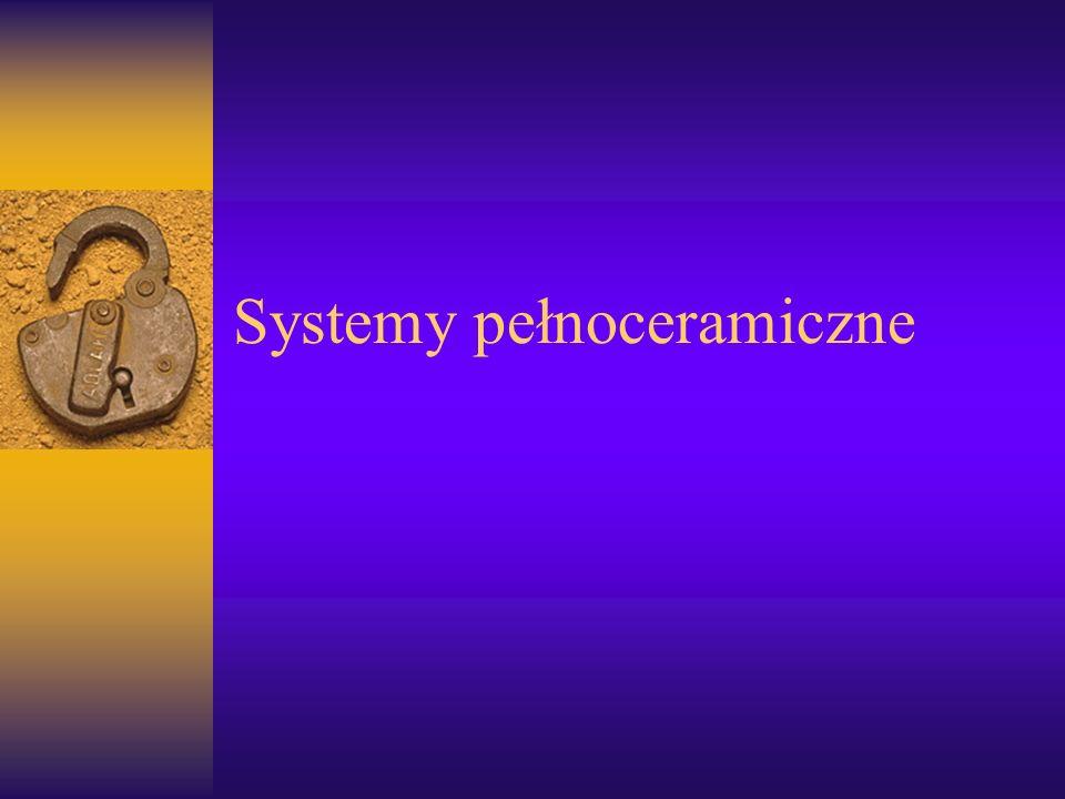 Systemy pełnoceramiczne