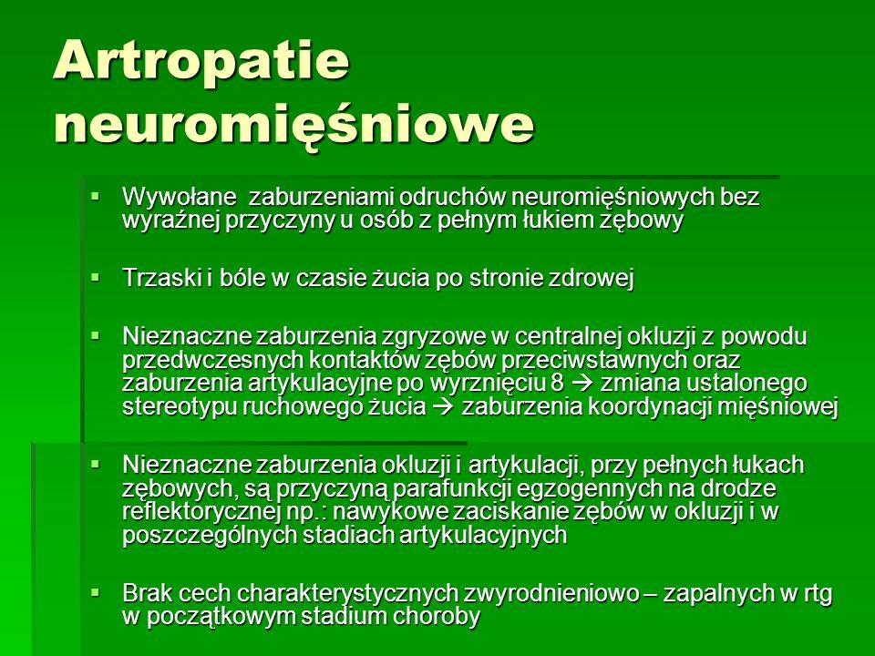 Artropatie neuromięśniowe