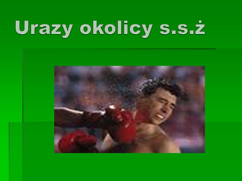 , Urazy okolicy s.s.ż