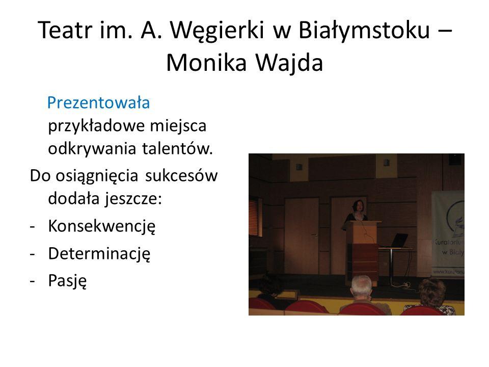 Teatr im. A. Węgierki w Białymstoku – Monika Wajda