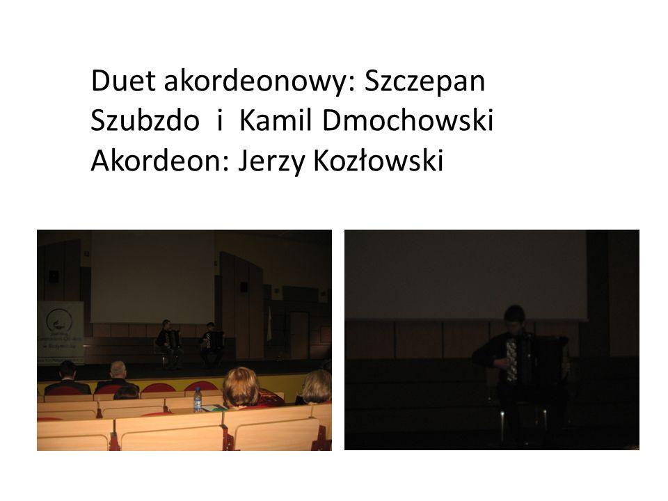 Duet akordeonowy: Szczepan Szubzdo i Kamil Dmochowski
