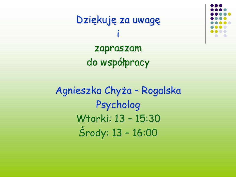 Agnieszka Chyża – Rogalska