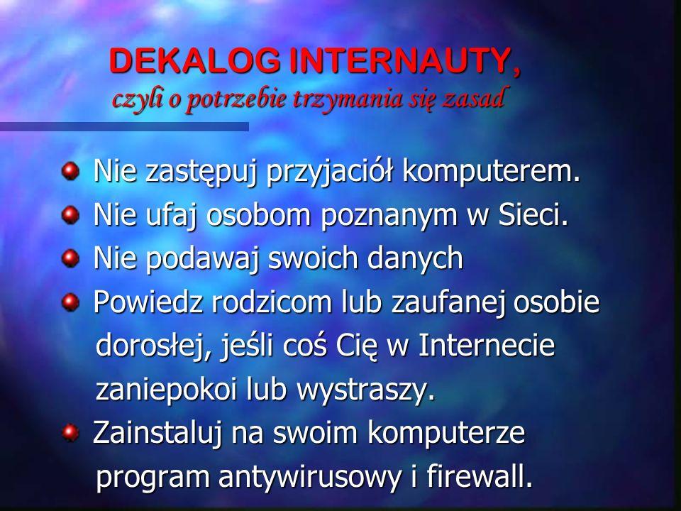 DEKALOG INTERNAUTY, czyli o potrzebie trzymania się zasad