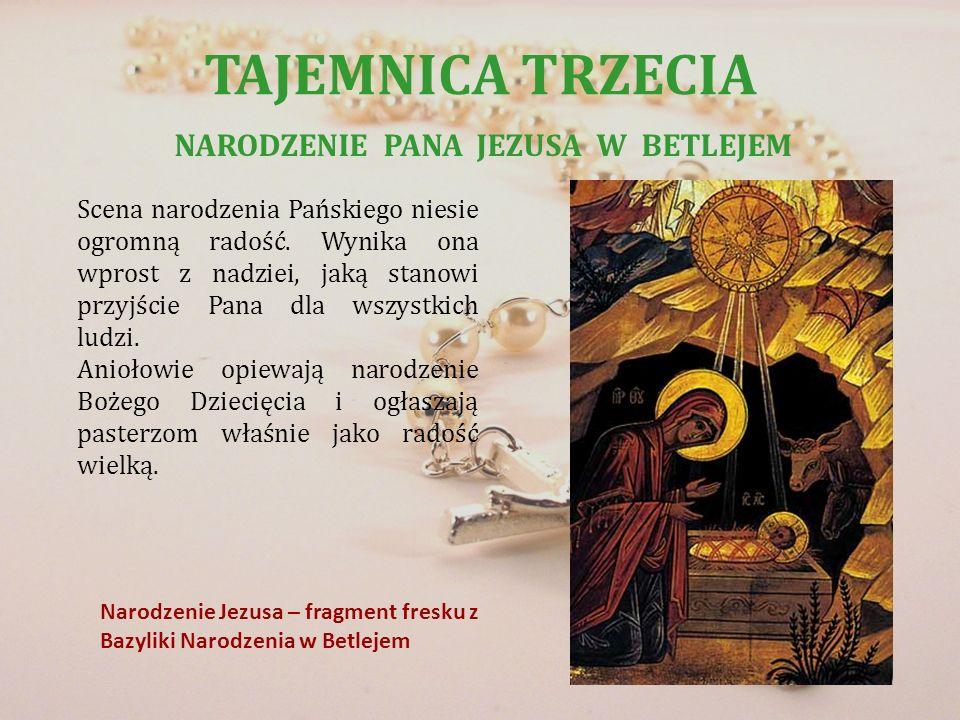 NARODZENIE PANA JEZUSA W BETLEJEM