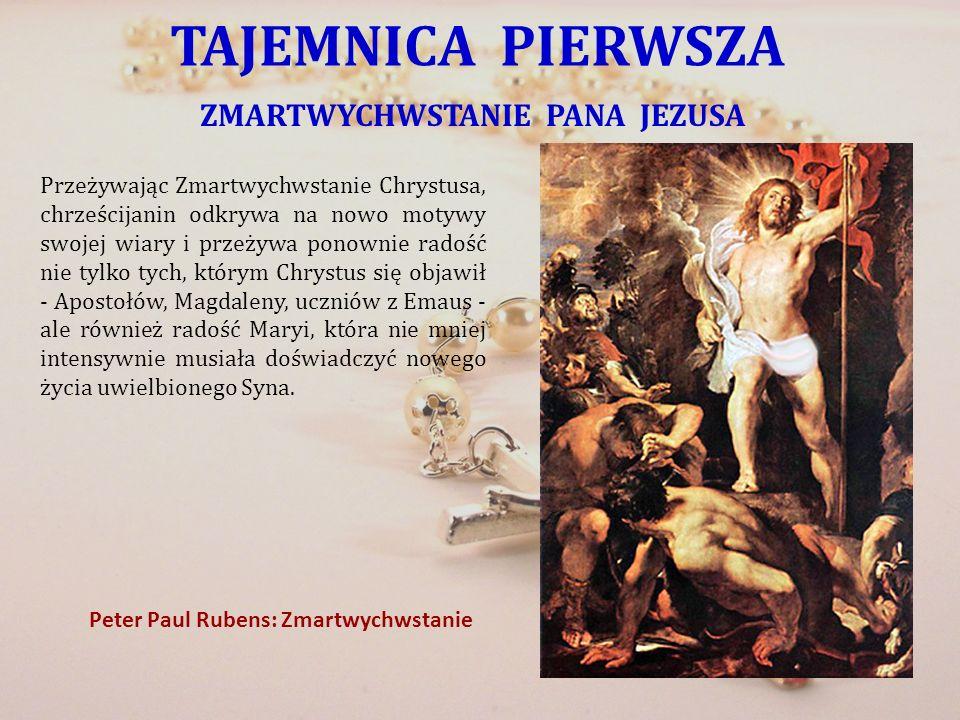 ZMARTWYCHWSTANIE PANA JEZUSA Peter Paul Rubens: Zmartwychwstanie
