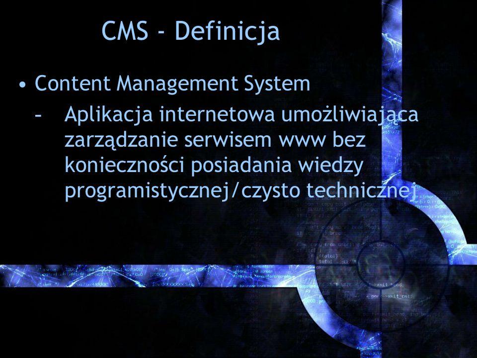 CMS - Definicja Content Management System
