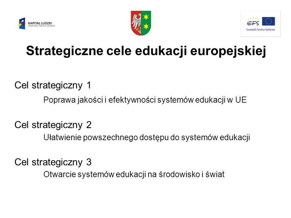 Strategiczne cele edukacji europejskiej