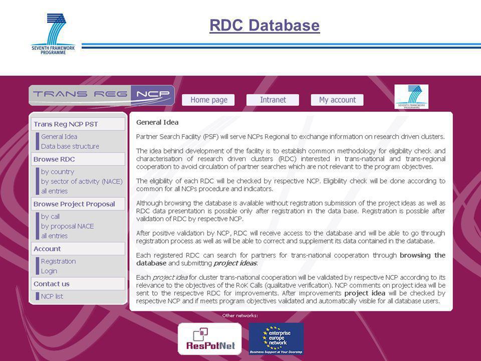 RDC Database 20